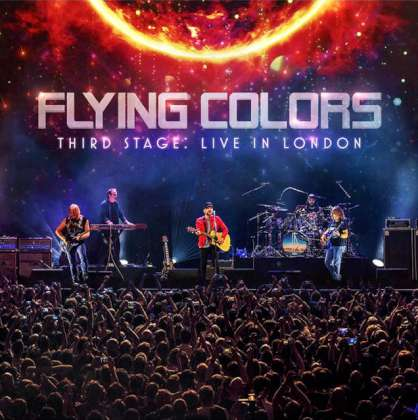 Flying Colors: Third Stage: Live In London cover