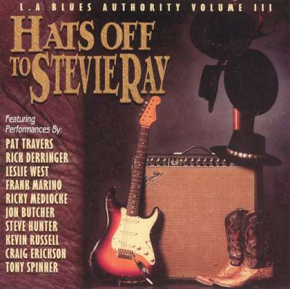 Various Artists - L.A. Blues Authority Volume III: Hats Off To Stevie Ray cover