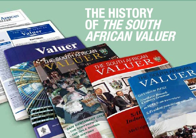 SA Valuer Cover
