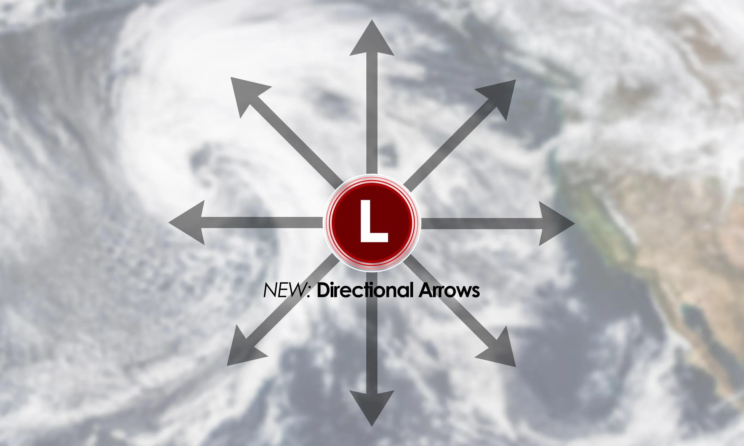 Directional arrowa
