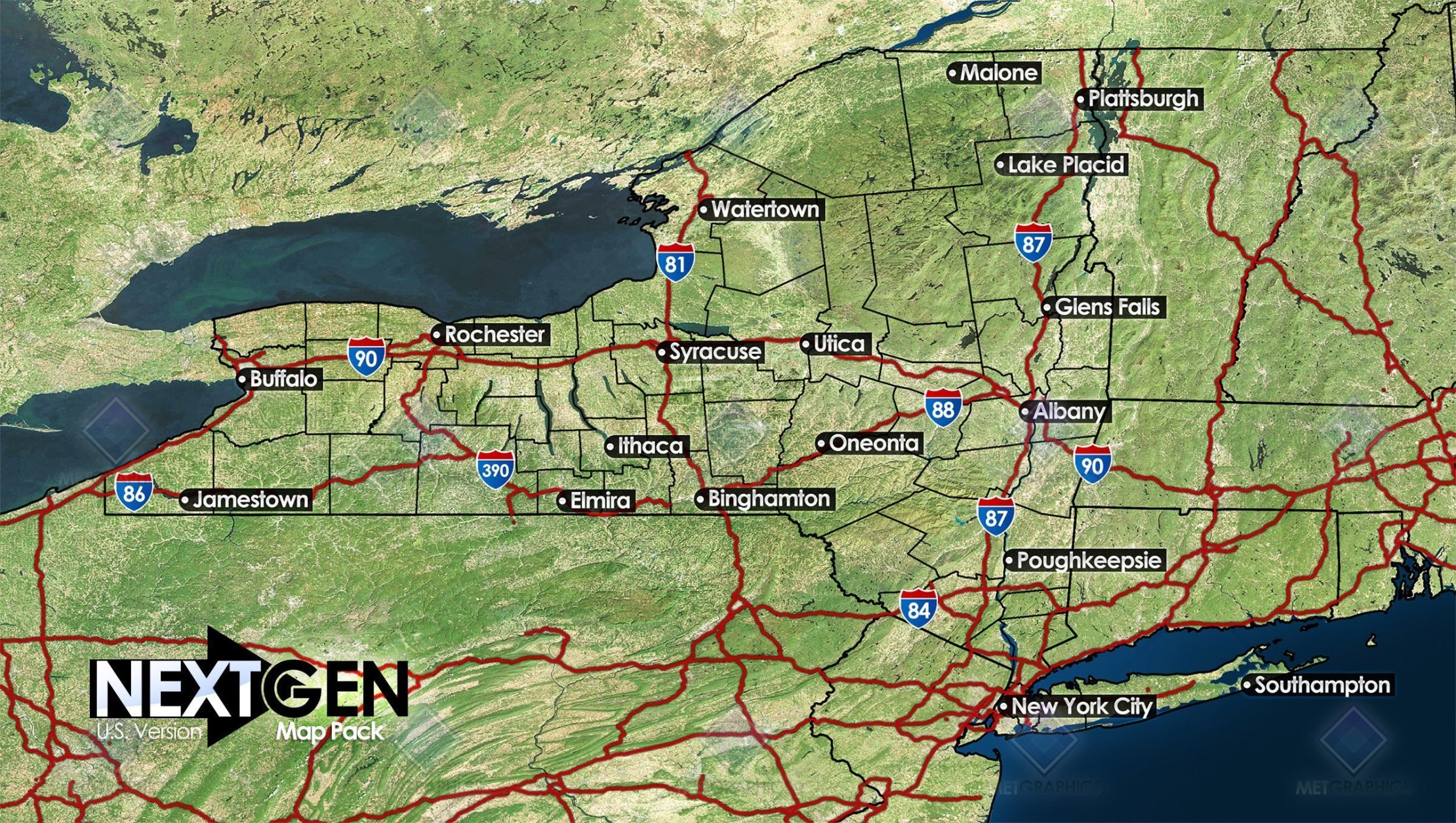 NextGen U.S. Map Pack | Weather Forecast Graphics ... on us map zoom in, united states zoomed in, europe map zoomed in, world map zoomed in,
