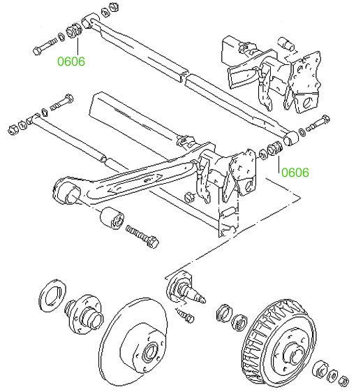 0831 Втулка тяжки переднего стабилизатора Volkswagen New
