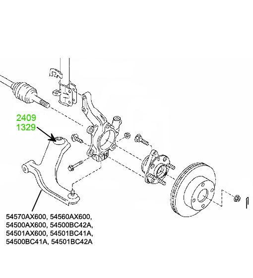 Запчасти Nissan Micra C+C (CK12. CK12E) 2005