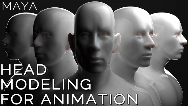 model a head for animation
