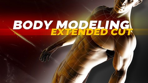 maya bodybuilder character modeling video download icon