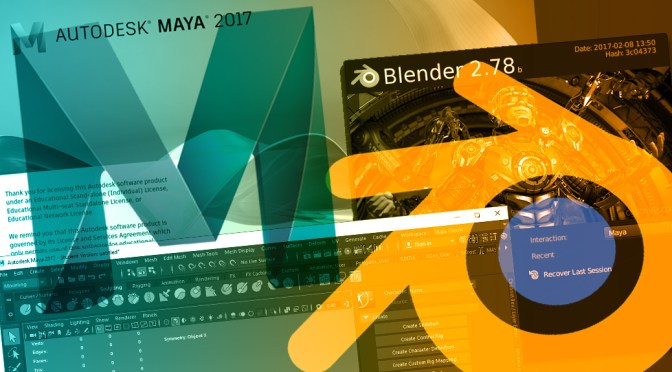 Maya vs Blender: what should a beginner learn?