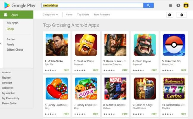 The 10 Most Profitable Android Games In The Google Play