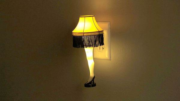 Leg Lamp - Ultimate Holiday Decoration