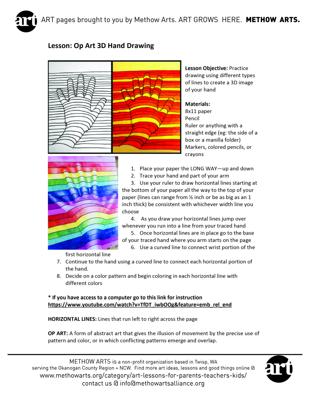 hight resolution of Lesson 2: 6th Grade ART at Home   Methow Arts