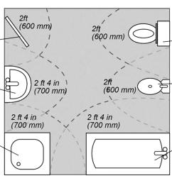 bathroom layout [ 1084 x 814 Pixel ]