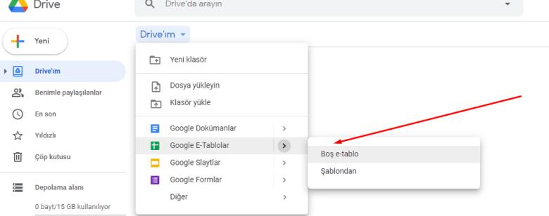 Google Excel ile Etkileşimli To-Do List Yapımı