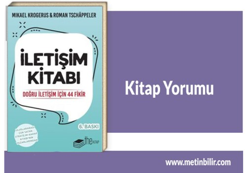 İletişim Kitabı- Mikael Krogerus&Roman Tschappeler