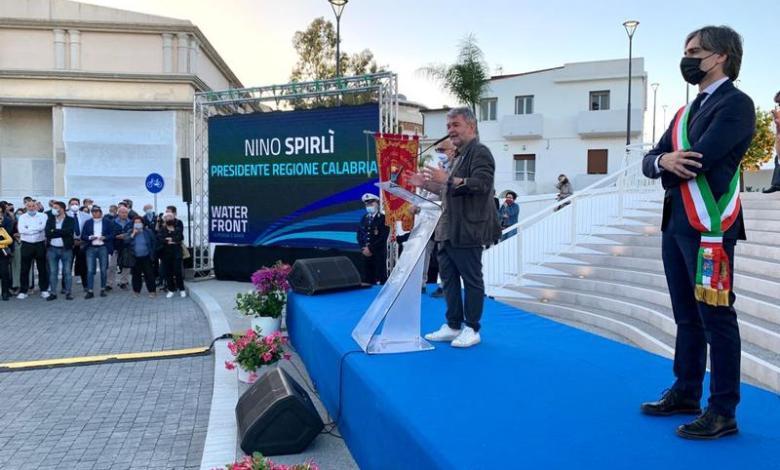 Photo of Inaugurato il waterfront di Reggio Calabria, Nino Spirlì: «Nuova perla calabrese»