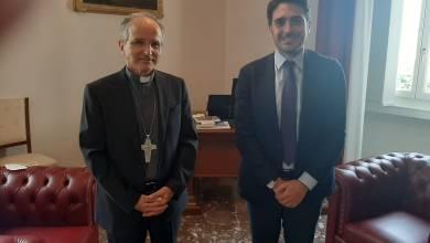 Photo of Il nuovo arcivescovo di Reggio Calabria Fortunato Morrone incontra Nicola Irto
