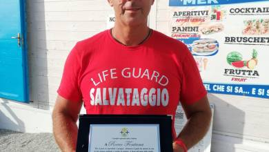 """Photo of """"Complimenti Rocco Fontana, autore di due salvataggi a mare"""""""