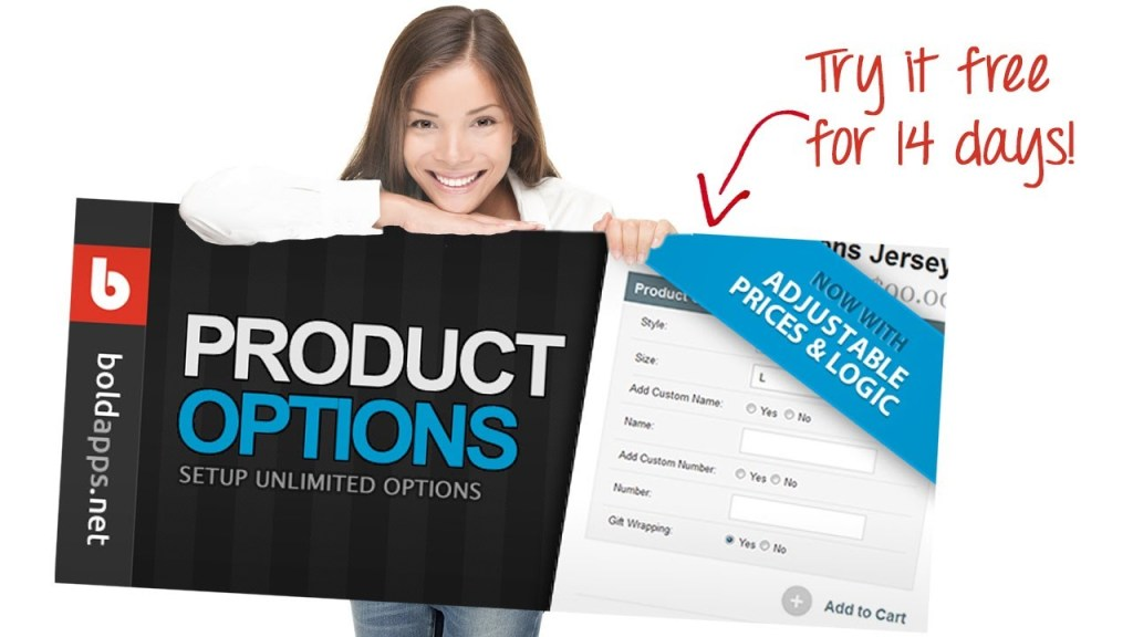 Product Options by Bold