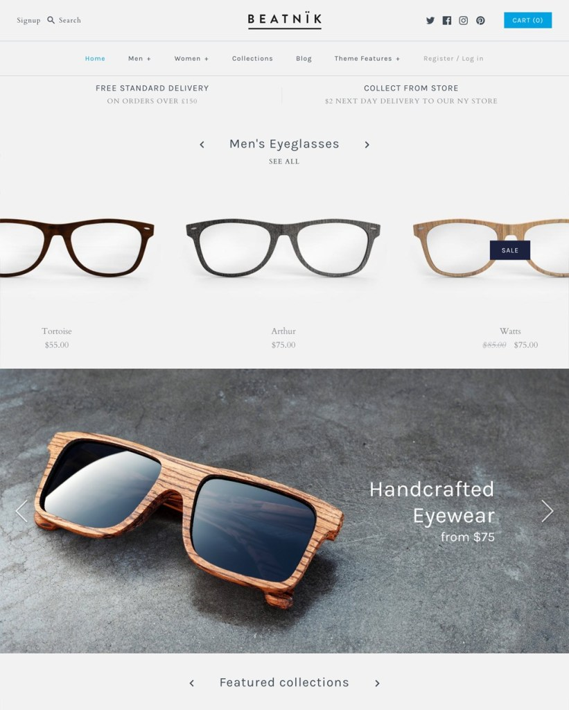 Symmetry - best themes for Shopify stores