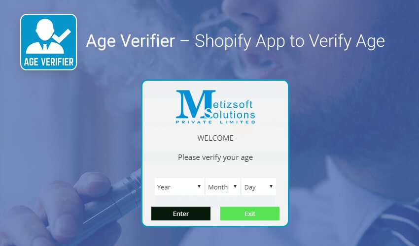 A Solution to Verify Customer's Age before Selling Prohibited Products Online