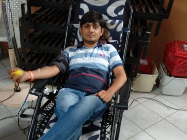 Blood Donor - Hardik