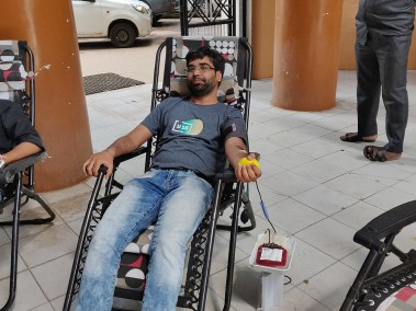 Blood Donor - Manthan Bhavsar