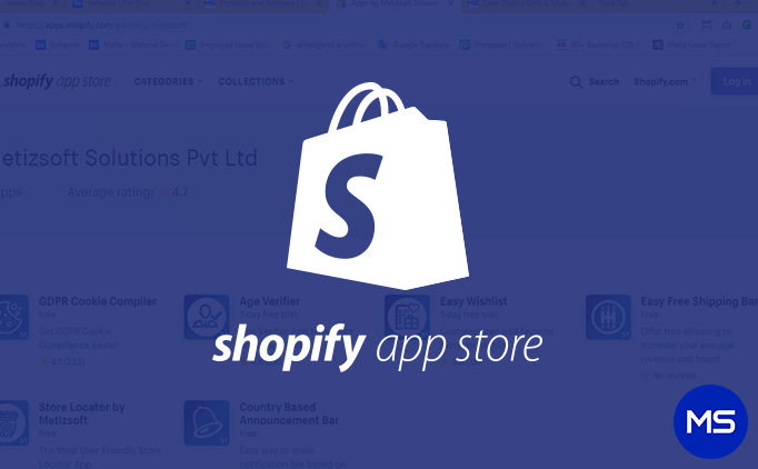 Shopify Apps Metizsoft