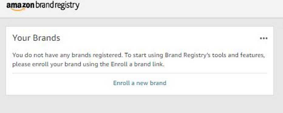 Enroll your brand