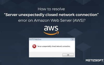 """How to Resolve """"Server Unexpectedly Closed Network Connection"""" Error on Amazon Web Server (AWS)?"""