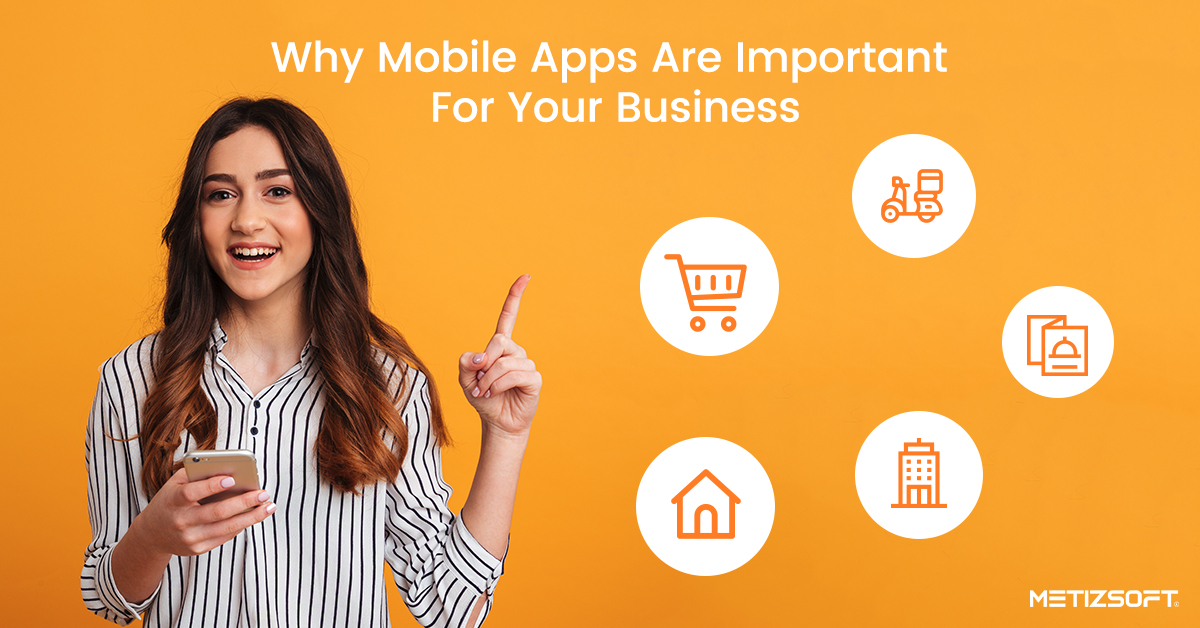Importance of Mobile Applications For Business   Metizsoft