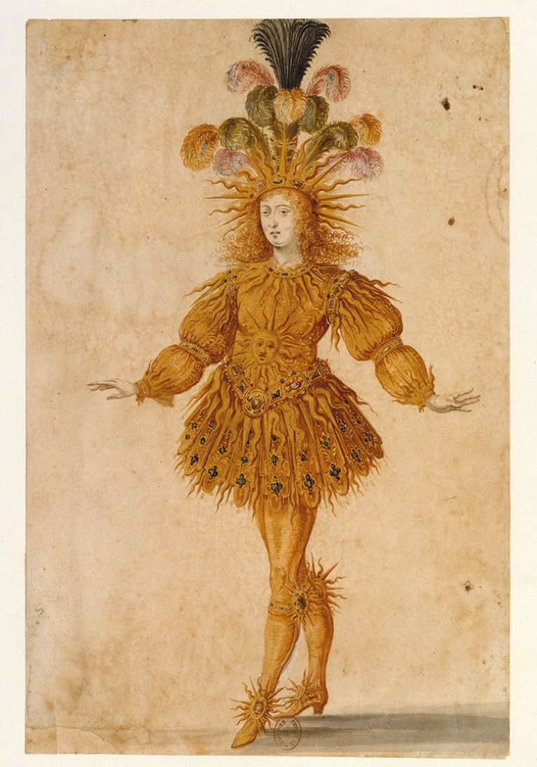 "Louis XIV as Apollo ""The Sun King"""