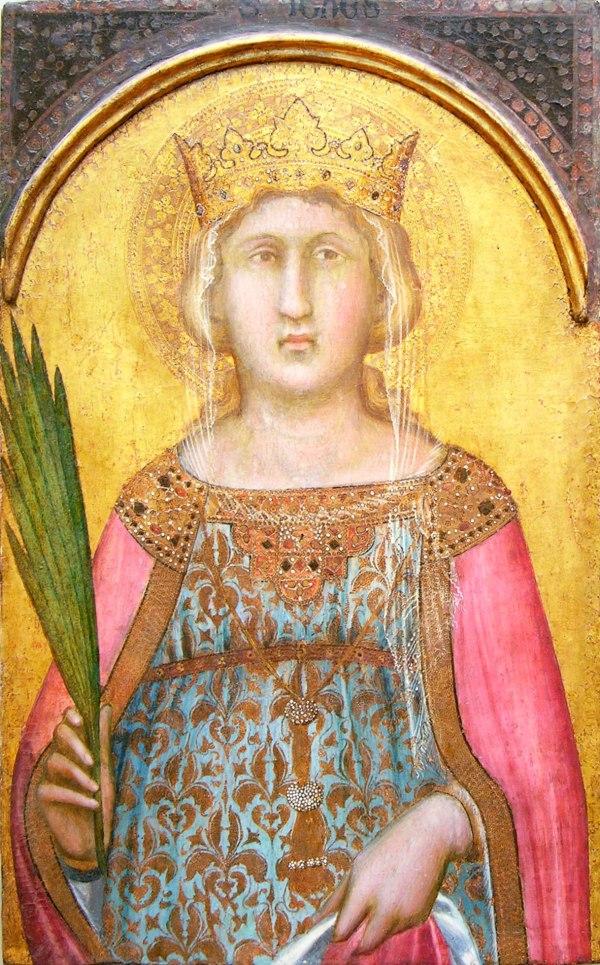 Pietro Lorenzetti Saint Catherine Of Alexandria 13.212 Heilbrunn Timeline Art History