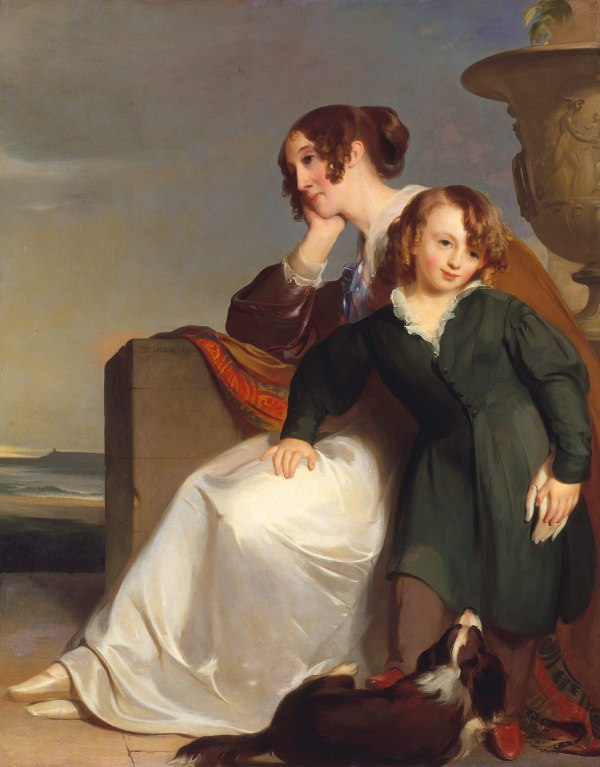 Thomas Sully Mother And Son 14.126.5 Heilbrunn