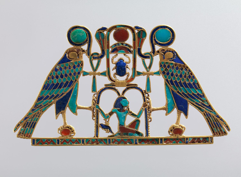 Pectoral Of Princess Sit Hathor Yunet Detail Middle