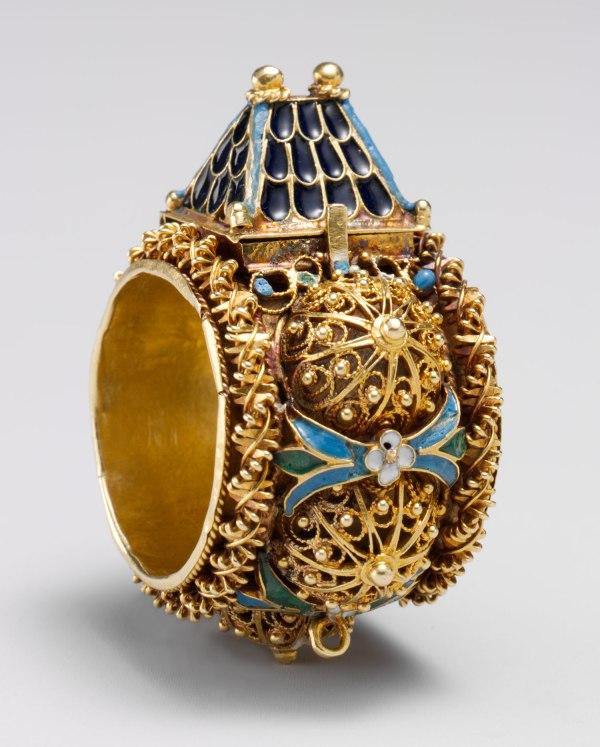 Jewish Betrothal Ring Venice Eastern Europe 17.190