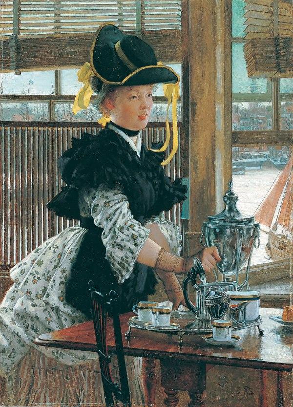James Tissot Tea 1998.170 Heilbrunn Timeline Of Art
