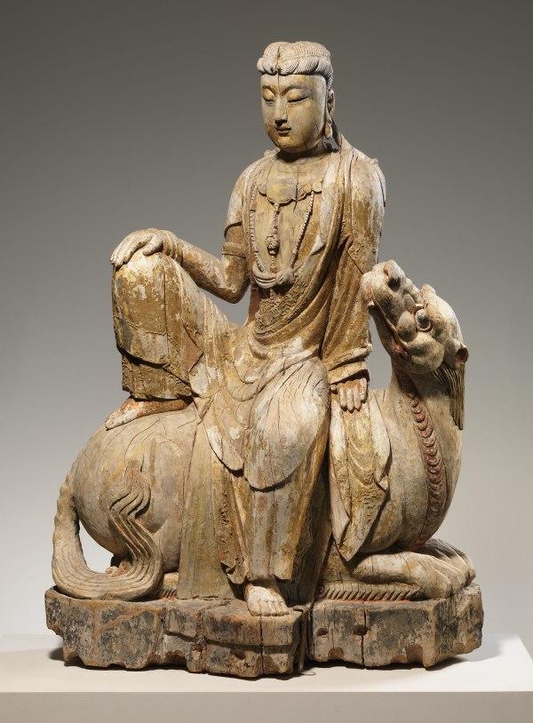 Bodhisattva Avalokiteshvara Of Lion' Roar