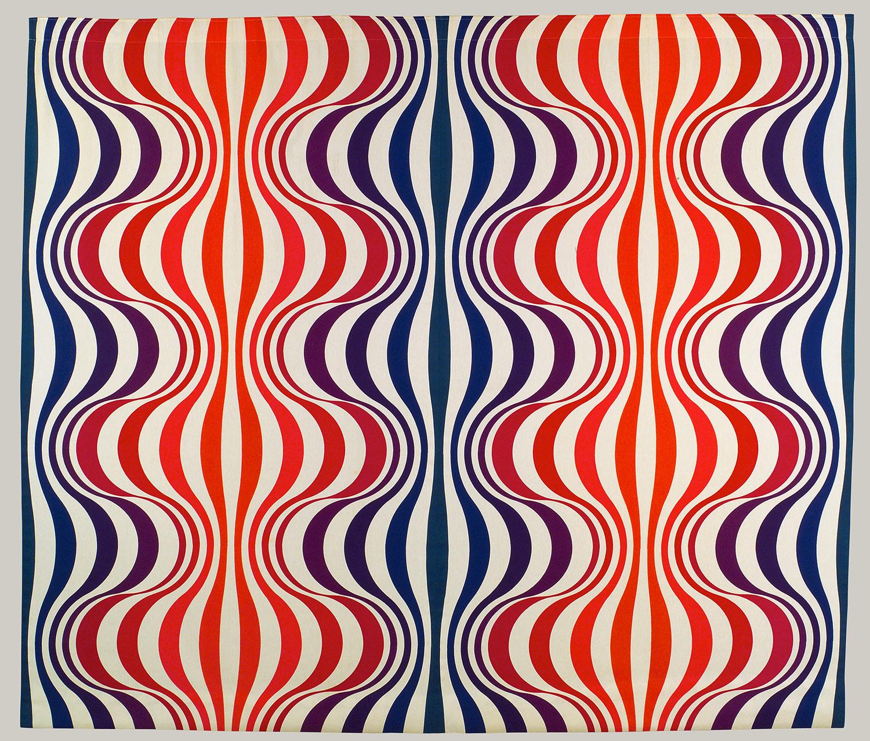 Verner Panton Mira Spectrum Textile 20014052