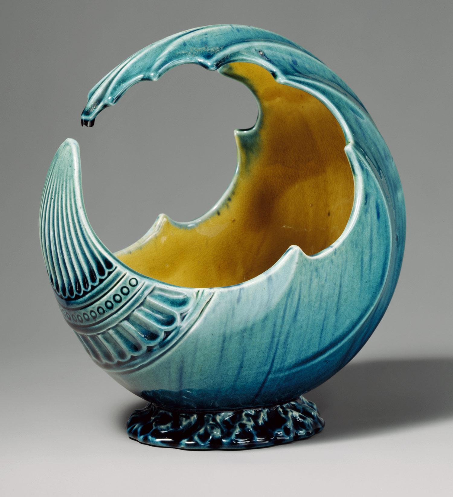 Wave Bowl by Christopher Dresser (1880)