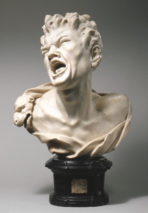 Balthasar Permoser Bust Of Marsyas 2002.468 Heilbrunn