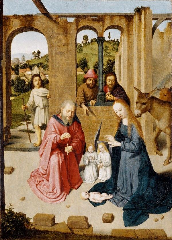 Gerard David Nativity 32.100.40a Heilbrunn