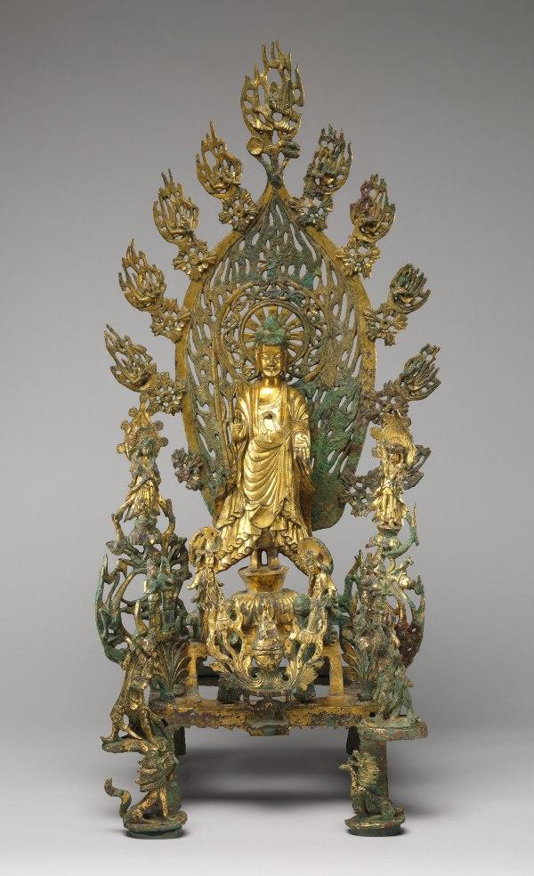 Altarpiece Dedicated Buddha Maitreya Mile
