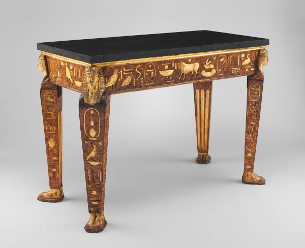 Ancient Roman Furniture Table