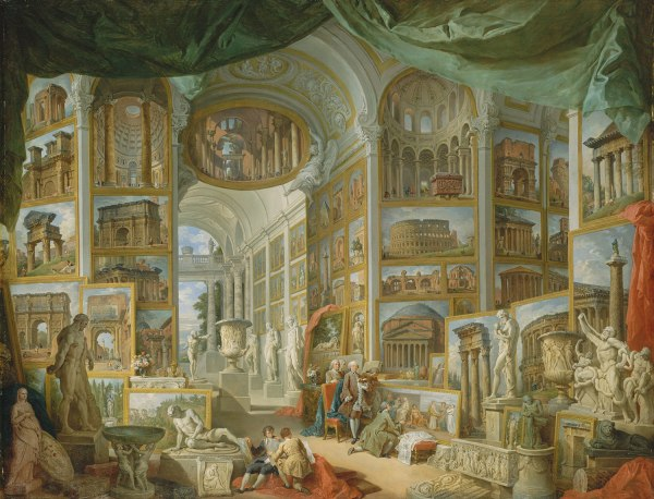 Giovanni Paolo Panini Paintings