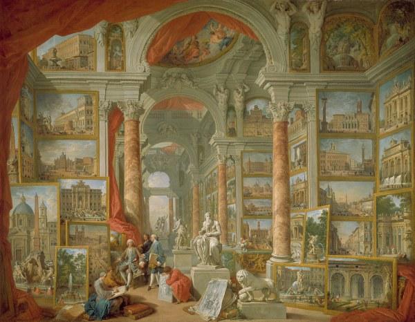 Giovanni Paolo Panini Modern Rome 52.63.2 Heilbrunn