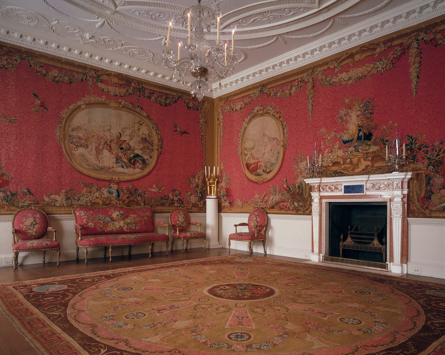 Robert Adam The Croome Court tapestry room Worcestershire 5875122  Heilbrunn Timeline of
