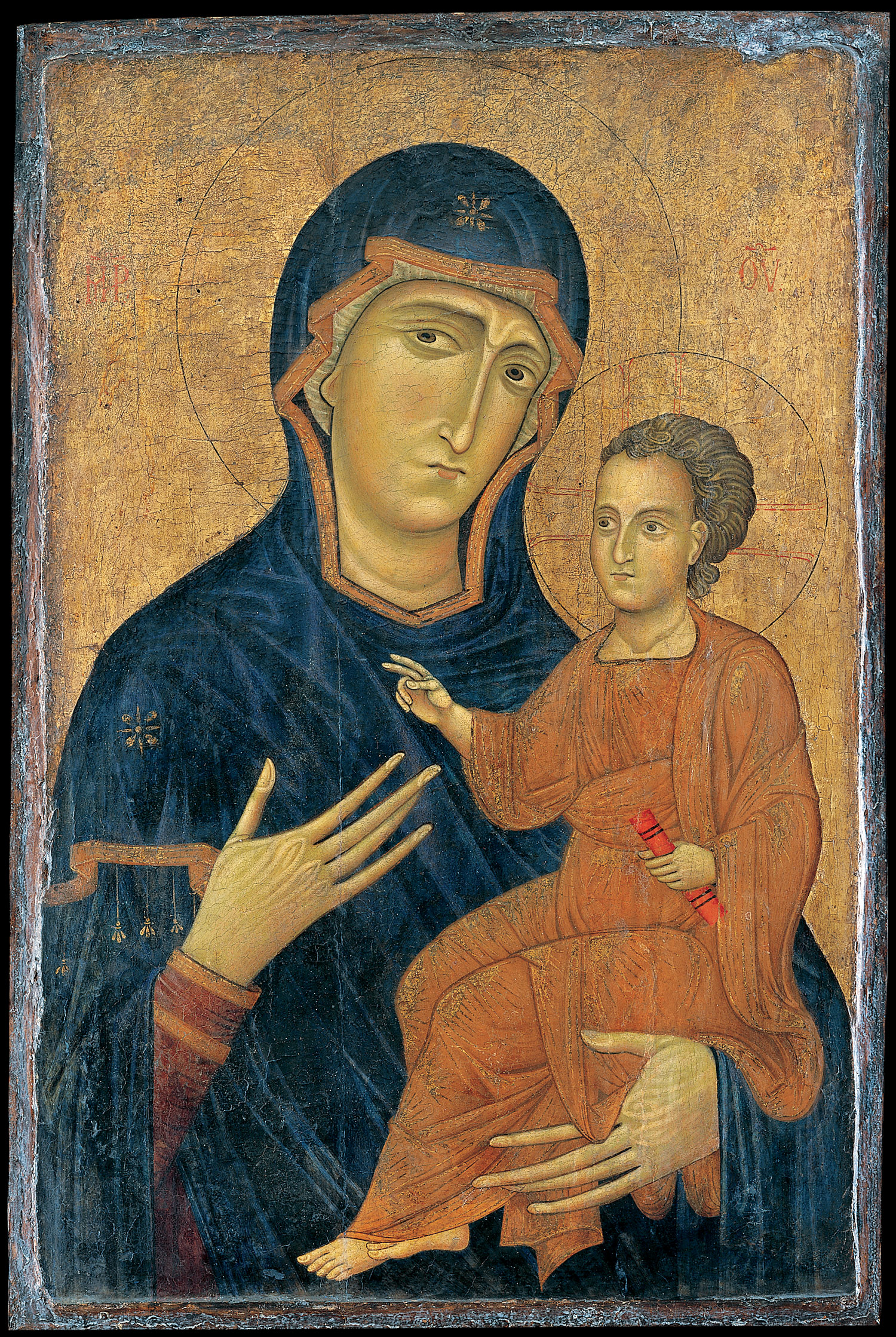 Madonna and Child by Berlinghiero, Lucca, 1228x1236