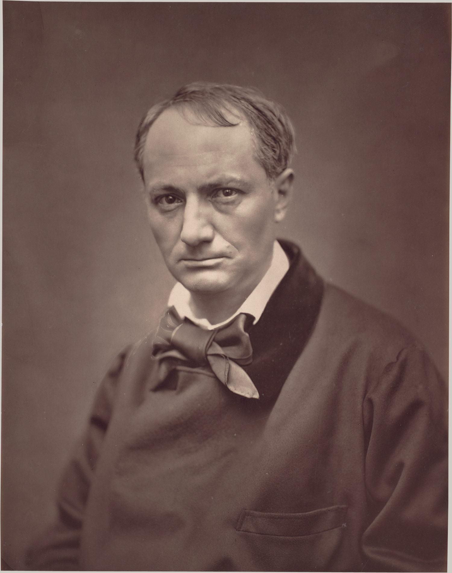 Etienne Carjat: Baudelaire
