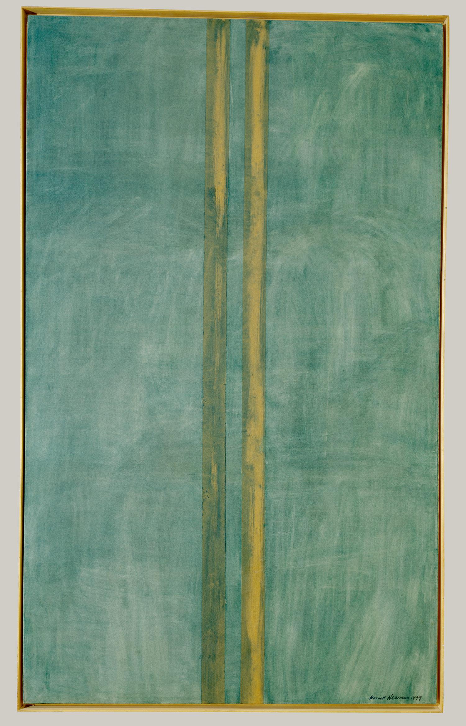 Painting by Barnett Newman 1949
