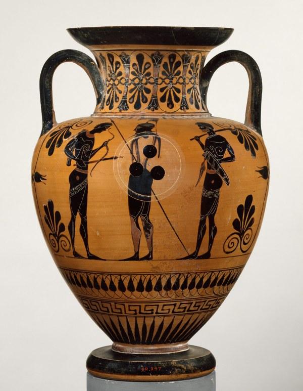 Africans In Ancient Greek Art Pots