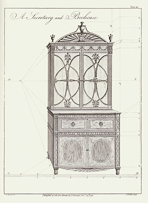 The cabinet-maker and upholsterer's drawing-book, in three