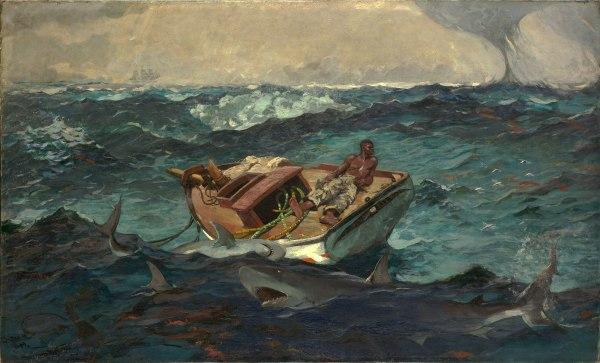 Gulf Stream Painting Winslow Homer